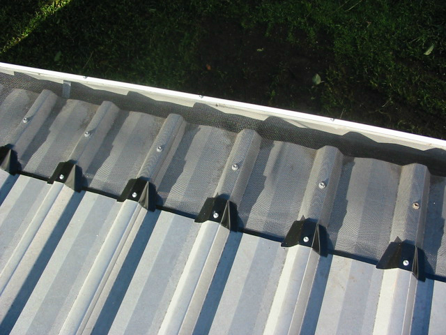 Awesome Fineleaf Gutter Protection On A Trimdeck Roof