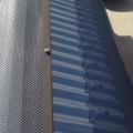 aluminium gutter  guard installed on gutters cropped