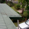 Decrabond Gutter installed with Leafmesh