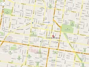 Toowoomba Map